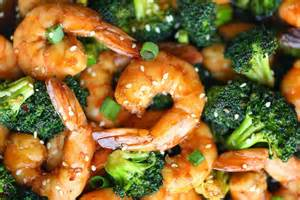 Easy cook broccoli and shrimp stir fry recipe