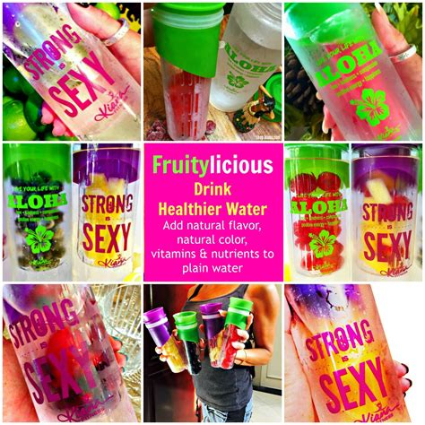 Strong Detox Drinks by Detox Infusion Water Bottle Strong Is Kiana