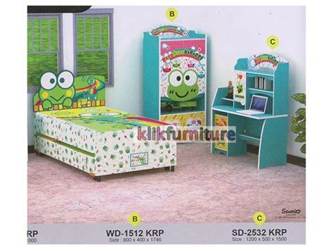 Tempat Mainan Anak Box Keroppi kamar set anak keroppi apanel agen furniture termurah
