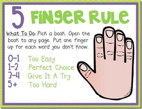 right books third grade news 5 finger rule for choosing books