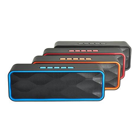 Outdoor Portable Bluetooth Speaker With Tf Card Slot And Nfc Kd 57 wireless bluetooth speaker zoee outdoor portable stereo speaker with hd audio enhanced bass