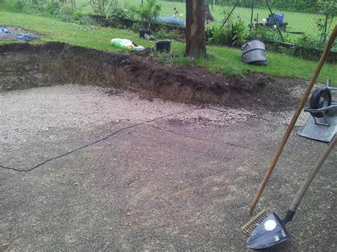 terrasse drainage randleisten und drainage f 252 r terrasse bauforum auf
