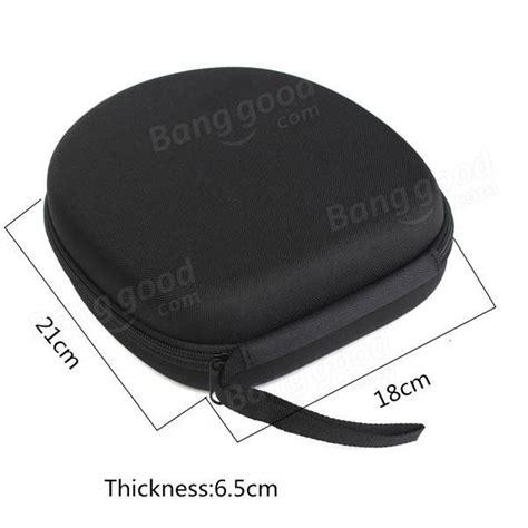 Basic Hardcase For Earphone Hitam 13 23day delivery black carrying bag holder