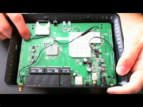 link dir  hd media router  disassembly solder directions youtube