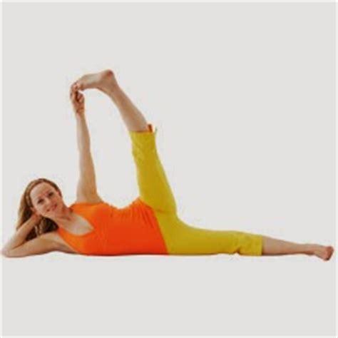 side reclining leg lift sleeping vishnu pose ananthasana yoga for health