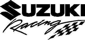Racing Aufkleber Suzuki by Suzuki Decals Suzuki Racing Decal Sticker 05
