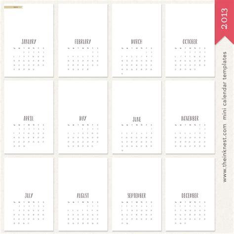 mini calendar template 212 best calendars images on calendar desk