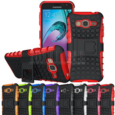 Ruged Armor Bumper Kick Stand Hardcase For Samsung Galaxy J5 J5 2015 rugged armor hybrid kickstand impact cover for samsung galaxy j3 2016 j320 express