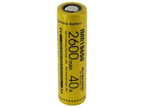 Nitecore 18650 Baterai Li Ion 2600mah 3 7v Nl1826 Promo nitecore 18650 2600mah 3 7v 40a battery 187 vapertown
