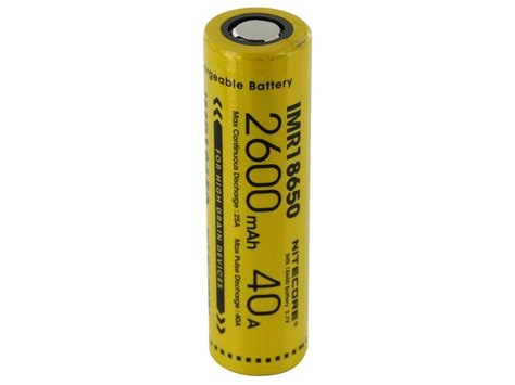 Nitecore 18650 Baterai Li Ion Low Temp High Perform 2900mah Nl1829lthp nitecore 18650 2600mah 3 7v 40a battery 187 vapertown