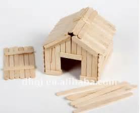how to diy popsicle stick house icreativeideas