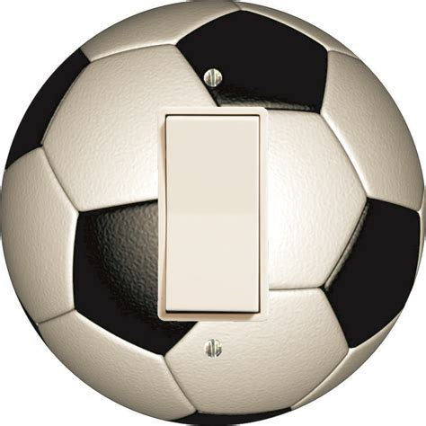 soccer ball wall light 13 best soccer shaped wall plate covers made in usa images