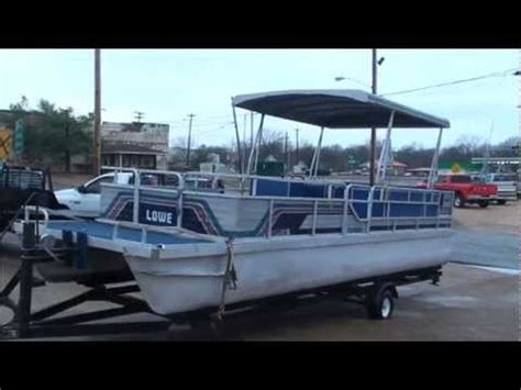 lowe boats owners manual 1986 lowes 24ft pontoon boat for sale see www sunsetmilan