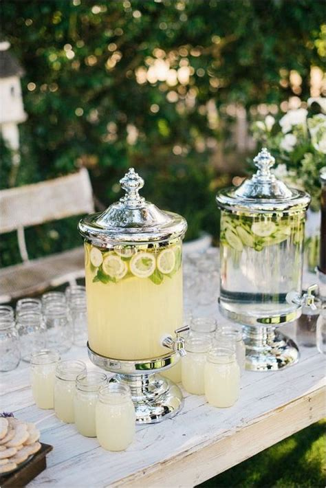 25 best ideas about drink table on pinterest wedding