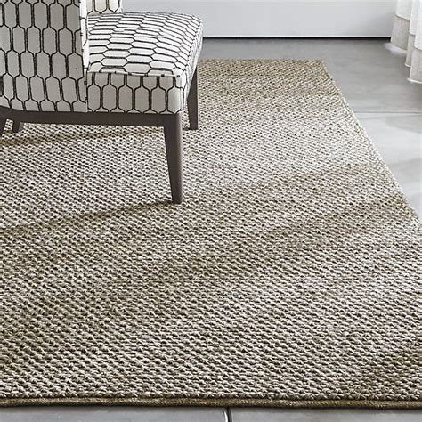 crate and barrel rug yvonne grey wool blend rug crate and barrel