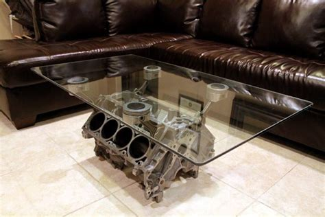 engine block coffee table other uses for