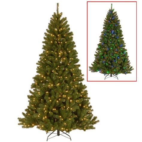 ge norway spruce 6 ft home decorators collection 7 5 ft indoor pre lit spruce hinged artificial