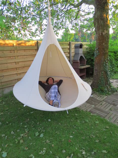 cocoon swing tent cacoon double modern hammocks and swing chairs dc
