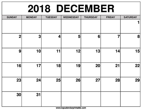 printable calendar december december 2018 calendar free download elsevier social