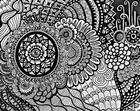 Zentangle By Aoiblue02 On Deviantart General Jumping Coloring Books