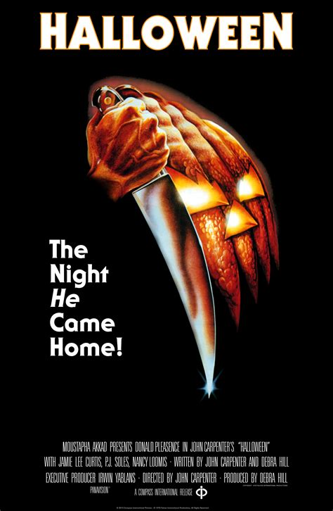 Carpenter Style House by Original Halloween Poster Painting Up For Auction