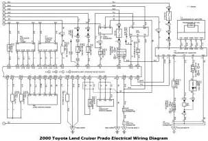 wiring diagrams 2000 toyota land cruiser prado electrical wiring diagram