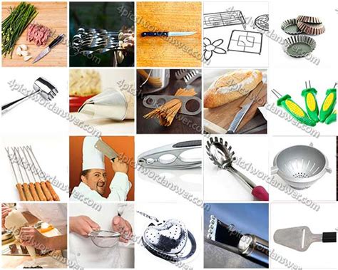 100 pics kitchen utensils level 41 60 answers 4 pics 1