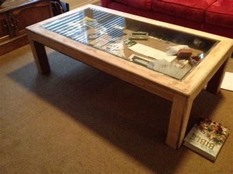 How To Make Coffee Table How To Build Glass Top Shadow Box Coffee Table