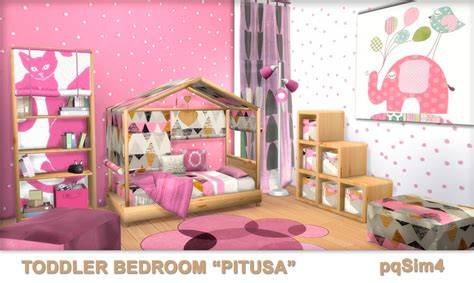 bedroom furniture for toddlers toddler bedroom quot pitusa quot sims 4 custom content
