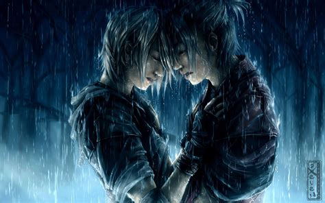 couple wallpaper with rain rainy love wallpaper and background image 1680x1050 id