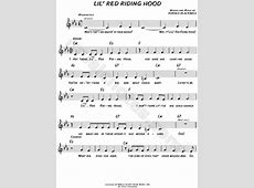 "Sam the Sham and the Pharaohs ""Lil' Red Riding Hood"" Sheet ... Little Red Riding Hood Lyrics"