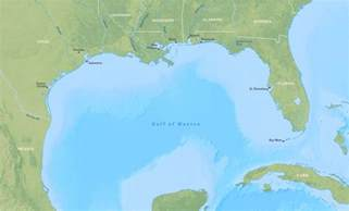 gulf of map maps gulf of mexico map