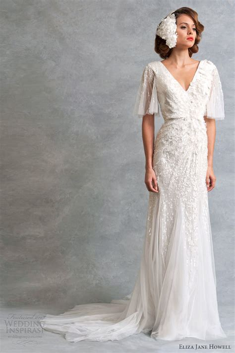 Vintage Inspired Wedding Dresses by Eliza Howell Wedding Dresses Legend Bridal