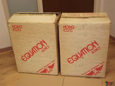 Vintage American Acoustics D3550e Box American Acoustics Labs Eq13 Pair Of Vintage Speakers New Stock Photo 1661025 Canuck