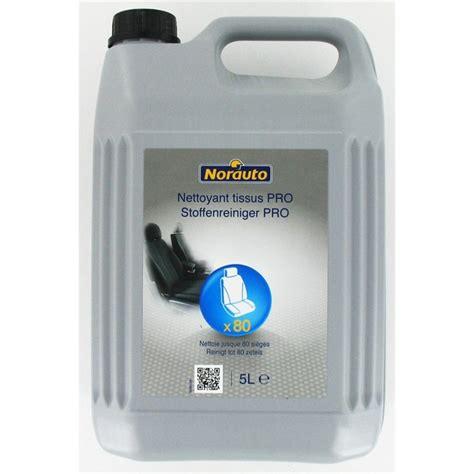 nettoyant pour canapé tissu nettoyant tissus pro norauto 5 l norauto fr