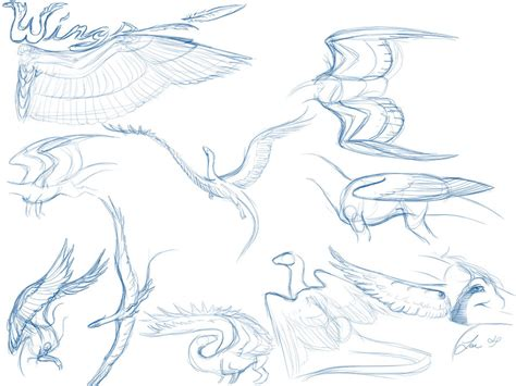 pattern drawing dragon dragon feathered wing tutorial by nakaseart on deviantart