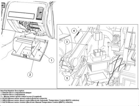 ford expedition blower motor resistor location 2014 ford escape blower motor removal autos post