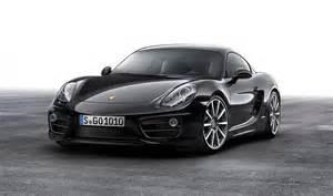 Porsche Cayman Singapore 2016 Porsche Cayman Gets Black Edition Treatment