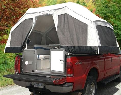 pop up tent for truck bed turn your truck bed into a tent for cing homestead guru