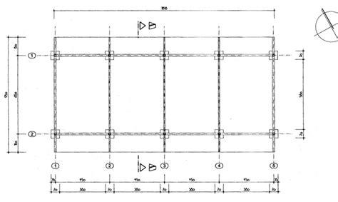 technische zeichnung carport solar carport sdc 2