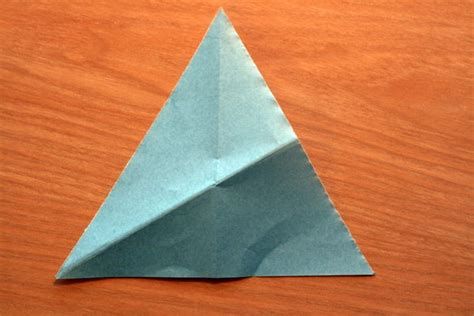 How To Make A Triangle Out Of Paper - how to make an equilateral triangle from a square