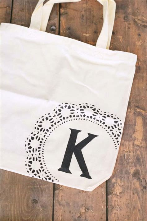 monogram tote bags ideas  pinterest monogram