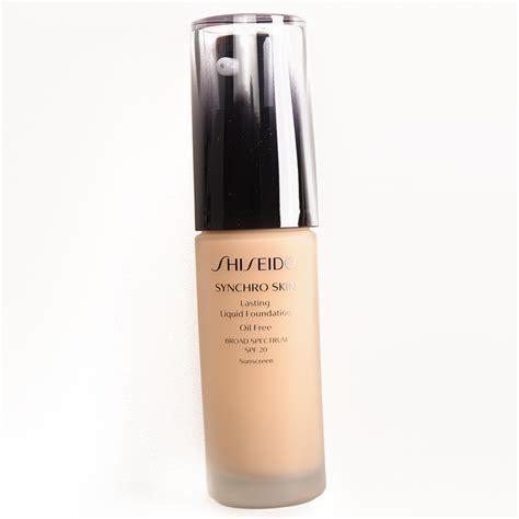 Shiseido Liquid Foundation sponsored shiseido synchro skin lasting liquid foundation