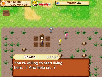harvest moon seed bagas31 harvest moon seeds of memories guide gt ushi no tane