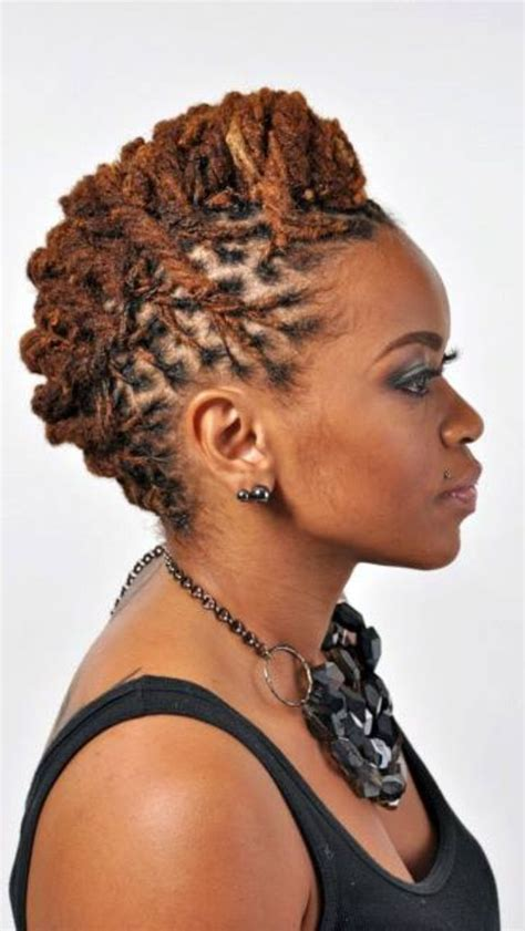 dread pin up styles for women locs updo hair it is pinterest
