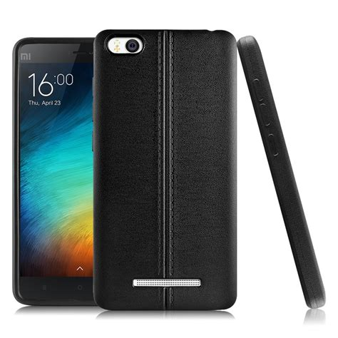 Imak Leather Back Casing Cover Sarung Kulit Iphone 6 6s jual imak leather back xiaomi mi4i black free tempered glass indonesia original