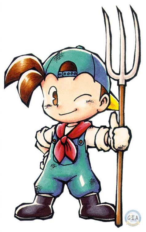 Gantungan Kunci Harvest Moon Karakter Zack tips tips harvest moon friends of mineral town hassanal link