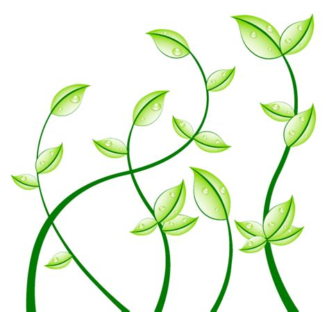 free vector graphics clipart green leaves free vector graphics 123freevectors