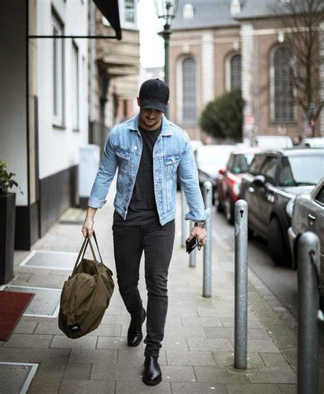 Would You Wear An All Denim Like On Project Runway Last by How To Wear A Denim Jacket 3 Ways The Idle