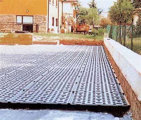 drenaggio giardini pensili drenante per giardini drain floor project for building